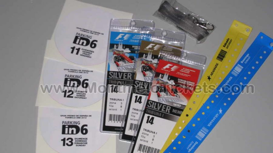 silber member f 1 gp spanien formel 1 motogp tickets. Black Bedroom Furniture Sets. Home Design Ideas