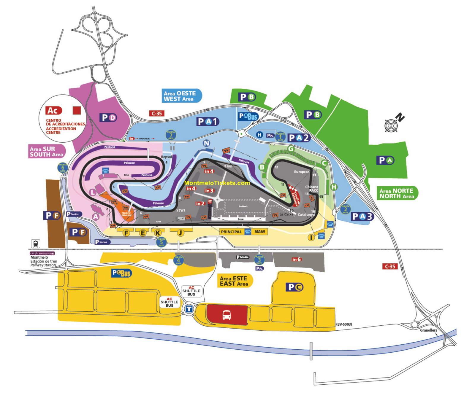 circuit de barcelona catalunya formel 1 motogp tickets gp barcelona. Black Bedroom Furniture Sets. Home Design Ideas